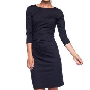 J McLaughlin black sage riches stretch dress xl